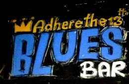 Adhere the 13 Blues Bar